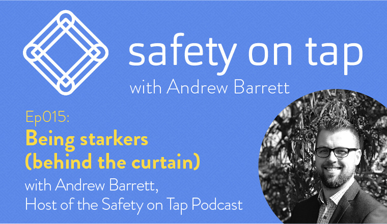 Ep015: Being starkers (behind the curtain) with Andrew Barrett
