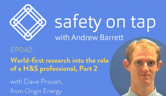 Ep042: World-first research into the role of the H&S professional, Part 2, with Dave Provan