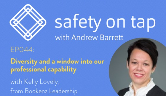 Ep044: Diversity and a window into our professional capability, with Kelly Lovely from Bookenz Leadership