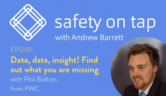 Ep046: Data, data, insight!  Find out what you are missing, with Phil Bolton