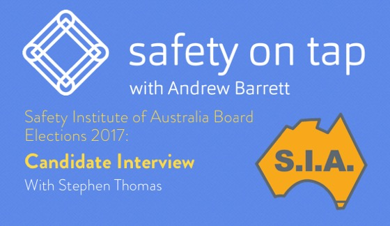 SIA2017 BOARD CANDIDATE INTERVIEWS-Stephen Thomas