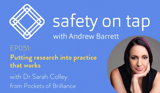 Ep051: Putting research into practice that works, with Dr Sarah Colley