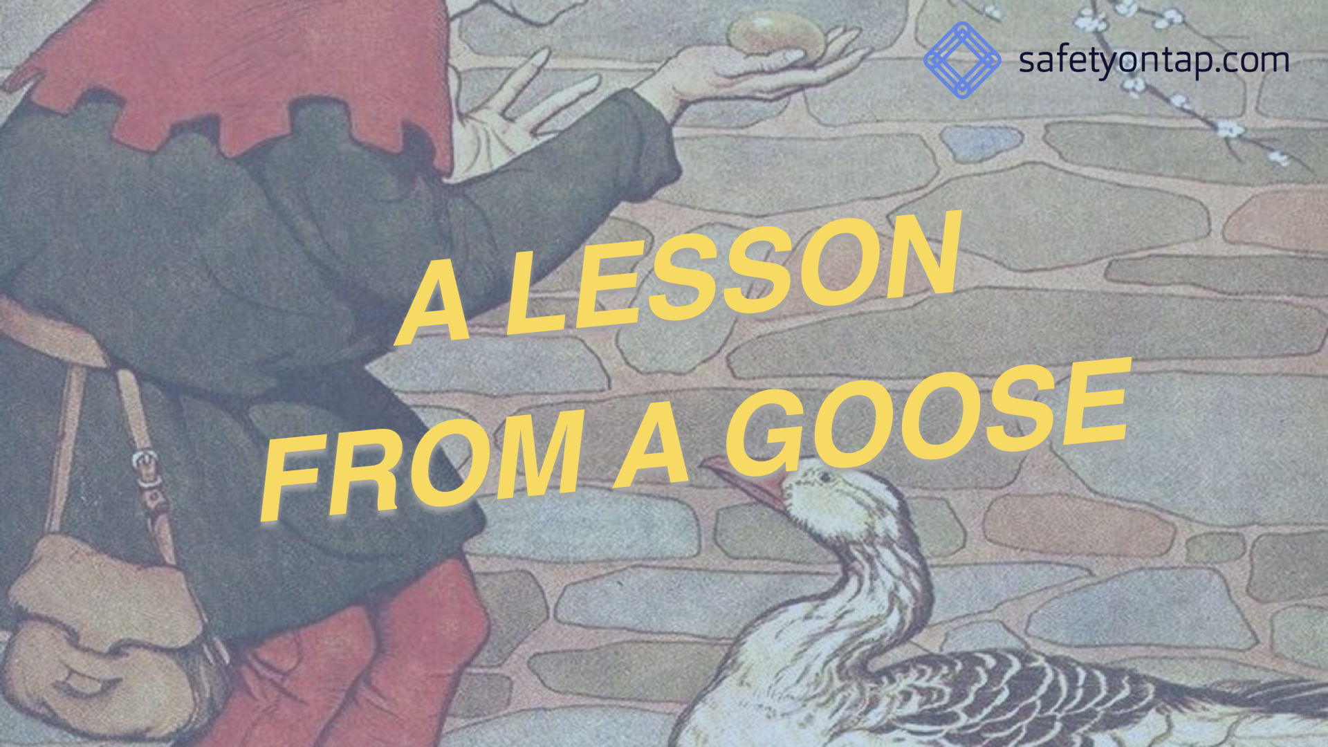 Ep064: A lesson from a goose