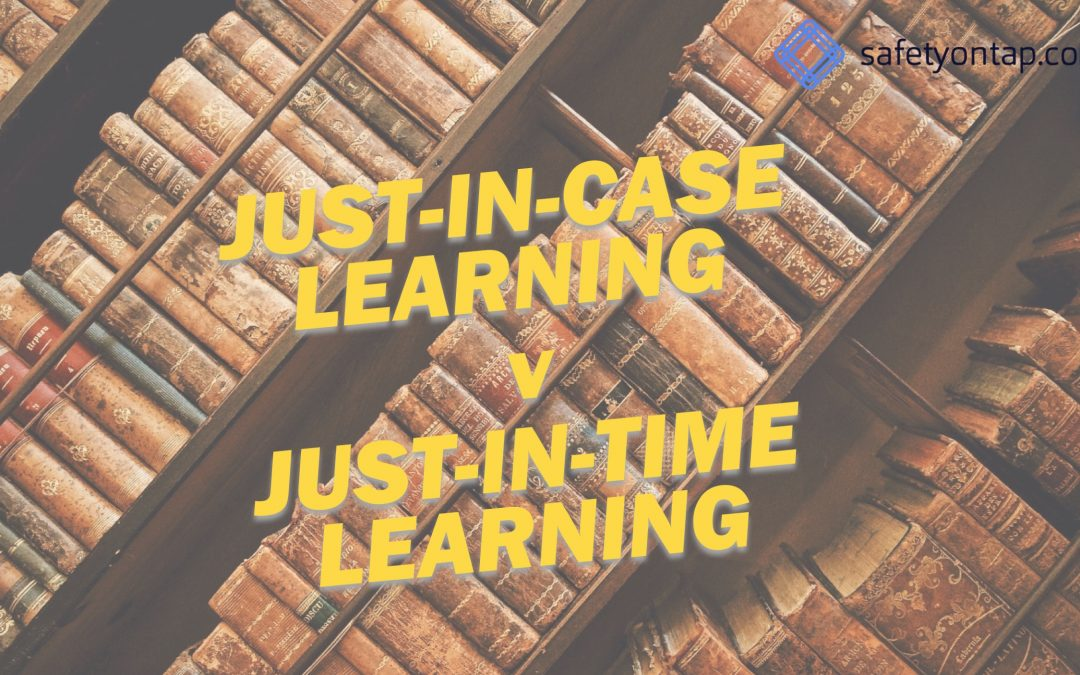 Ep060: Just-in-case learning vs just-in-time learning