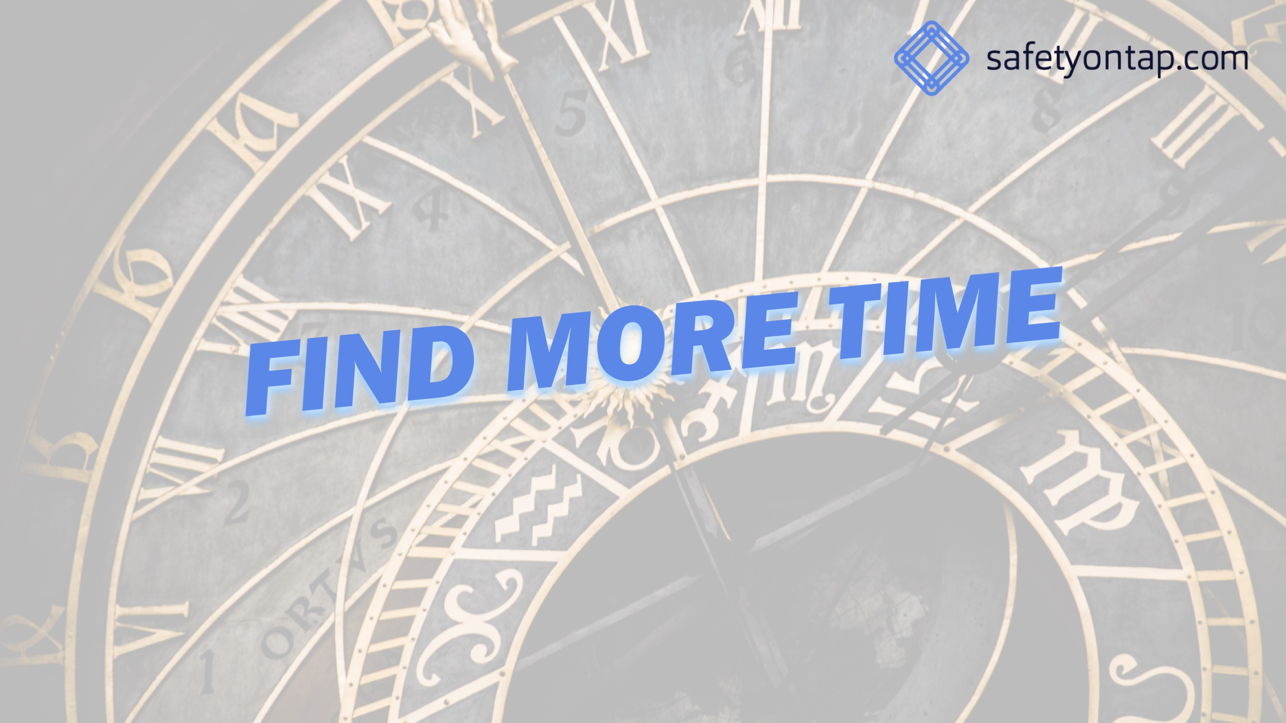Ep057 How to find more time
