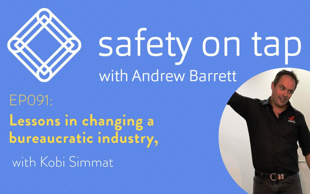 Ep091: Lessons in changing a bureaucratic industry, with Kobi Simmat