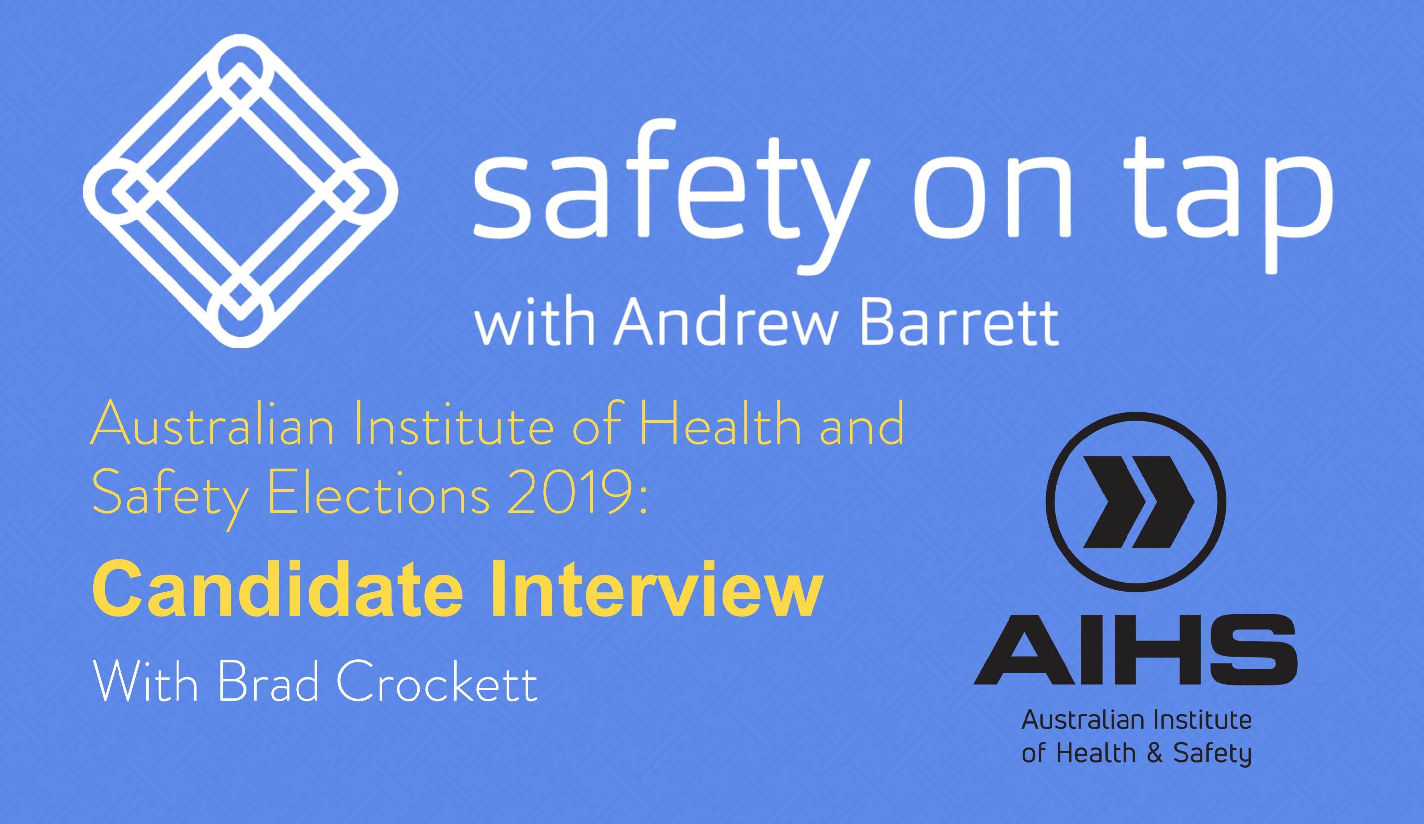 AIHS Election – Brad Crockett