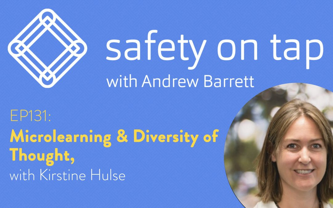 Ep131: Microlearning & Diversity of Thought, with Kirstine Hulse